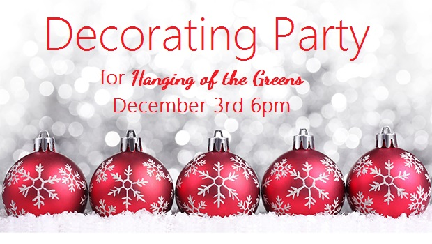 Decorating Party!