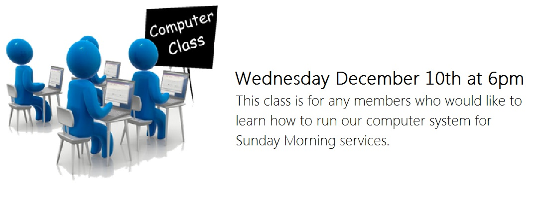 computer classes dec 10th 2014