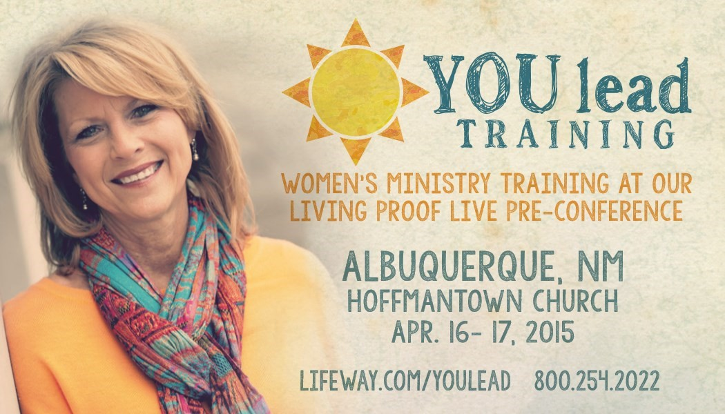 You lead training women's ministry