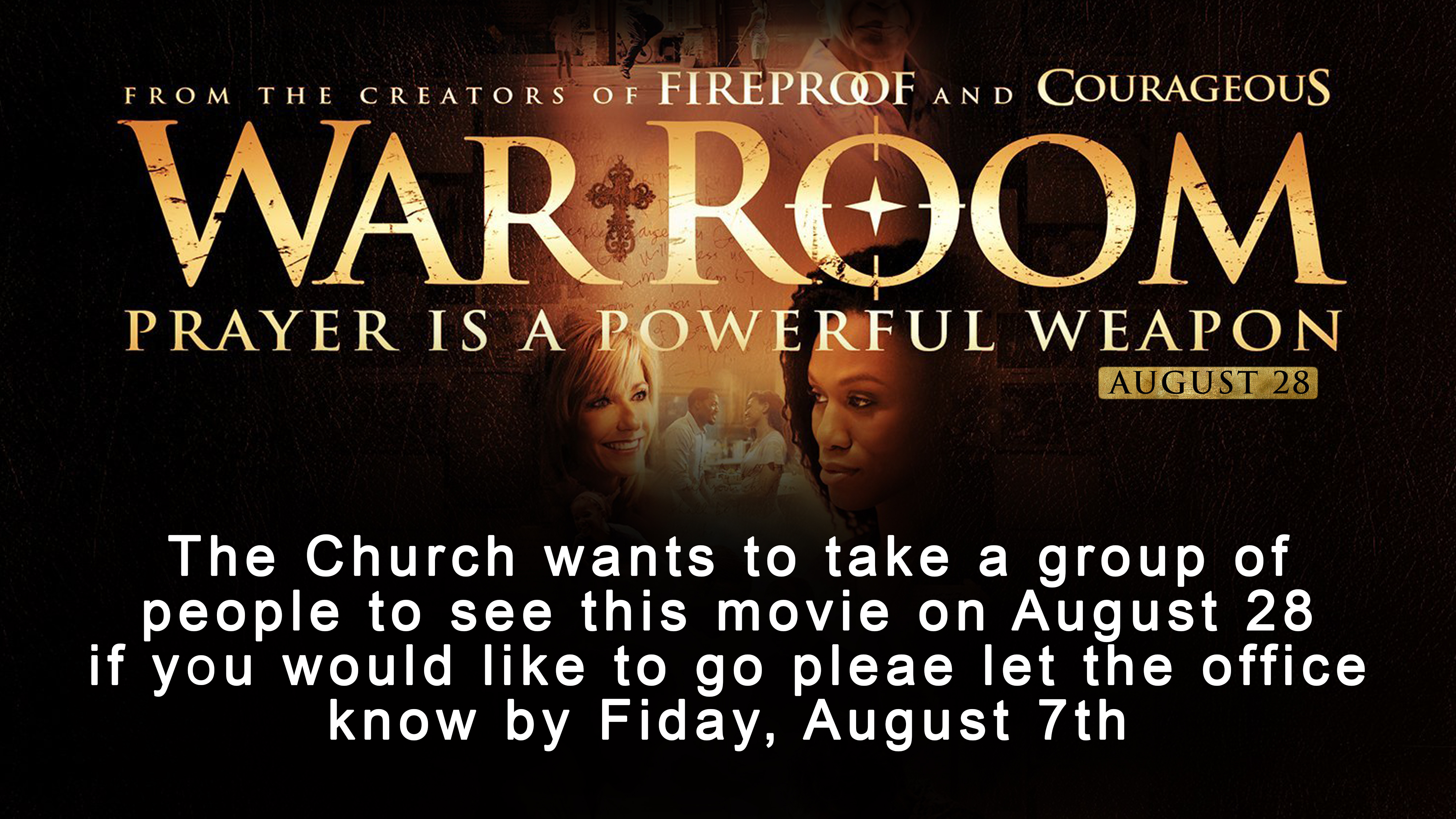 War Room Showing